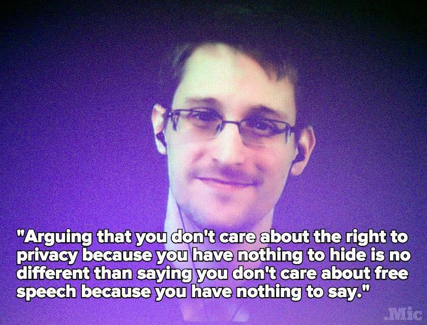 Snowden contra el tecno-cinismo