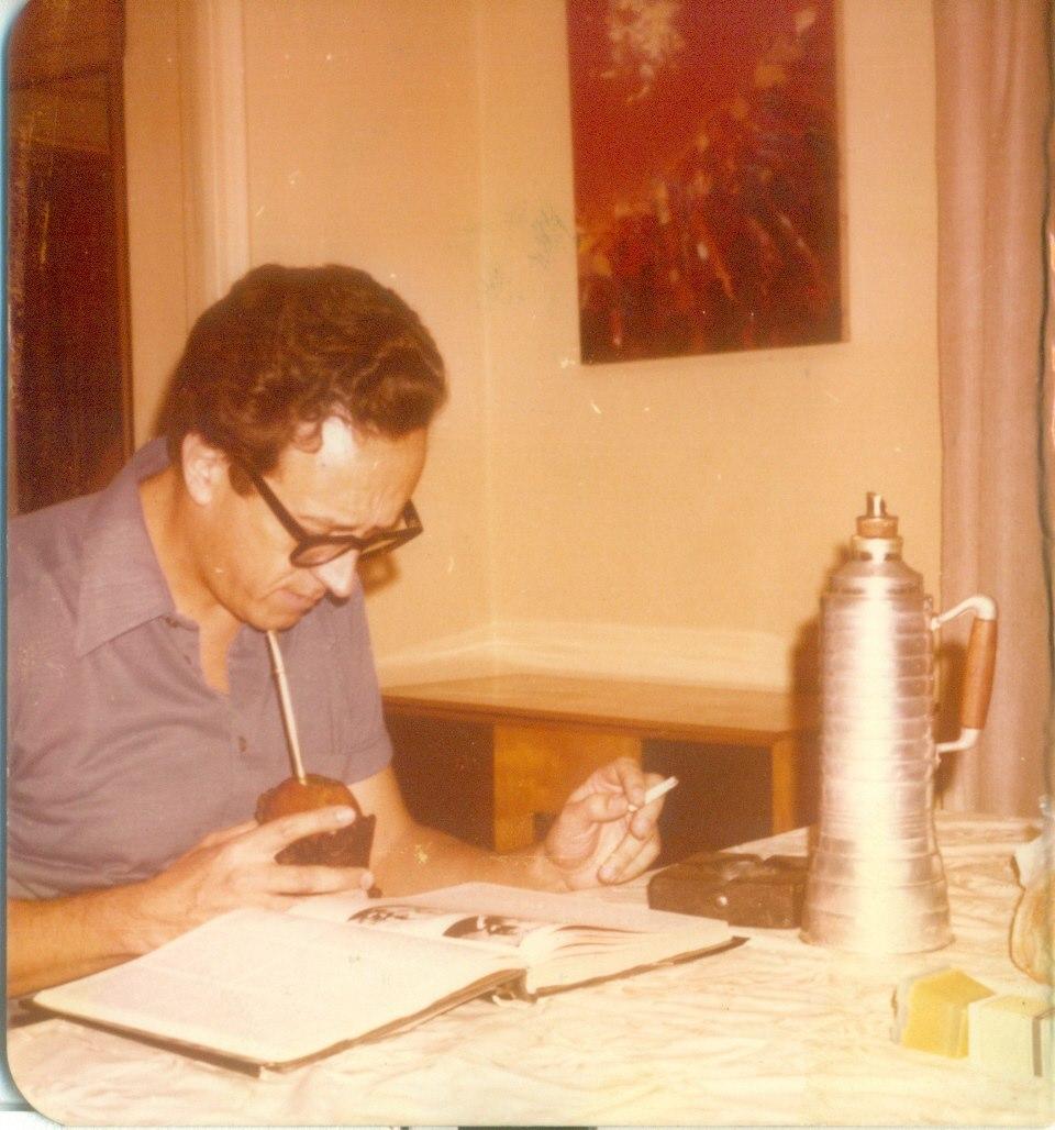 Foto de Héctor Galmés robada del muro de Ale Gortázar.